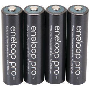 Panasonic BK-4HCCA4BA eneloop Rechargeable XX Batteries (AAA; 4 pk)