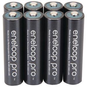 Panasonic BK-4HCCA8BA eneloop Rechargeable XX Batteries (AAA; 8 pk)