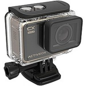 ACTIVEON GCA10W 16 Megapixel CX Gold Action Camera - 4x Digital Zoom - 2-inch LCD Touchscreen - F/2.4 Super Wide Lens - Black