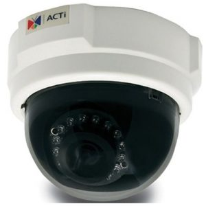ACTi E54 888034000636 5 MP Wired Indoor Dome Camera - White