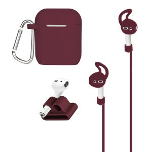 AT&T APCKIT-MAR AirPods Case and Accessories Kit (Maroon)