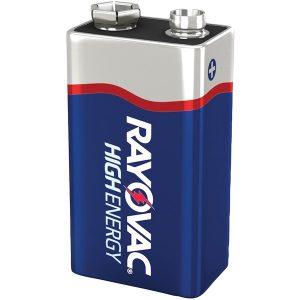 RAYOVAC A1604-1F Alkaline Batteries (9V; Single)