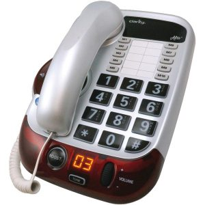 Clarity 54005.001 Alto Amplified Corded Phone