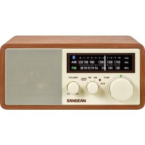 Sangean WR-16 AM/FM Bluetooth Wooden Cabinet Radio