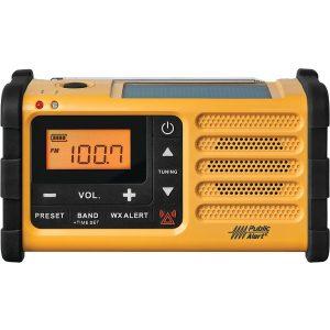 Sangean MMR-88 AM/FM/NOAA Weather Crank Radio