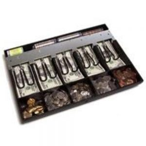 APG Cash Drawer Till with Coin Roll Storage (PK-15TA-03-BX)