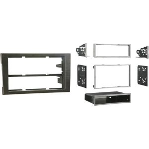Metra 99-9107B Single- or Double-DIN Installation Kit for 2002 through 2008 Audi A4 and S4