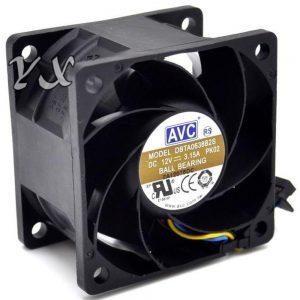 AVC DBTA0638B2S 12 V 3.15 A Large Air Flow Cooling Fan