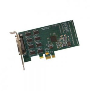 Acces PCIE-COM232-8 Low Profile PCI Express Multi-Port Serial Communication Cards - 232 Ports - 3ft cable