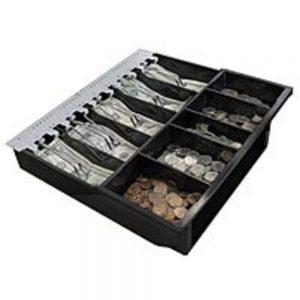 Adesso MRP-16CD 6-Inch Cash Drawer - 110 lbs Capacity