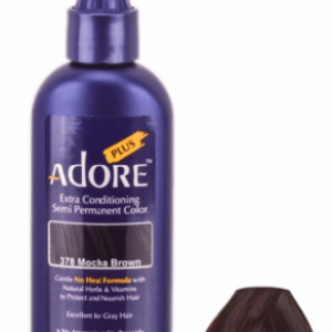 Adore Plus Semi Permanent Hair Color 378 Mocha Brown 3.4 oz