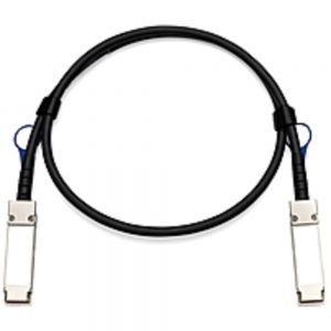 Approved Memory Dell Fiber Optic Network Cable - 3.28 ft Fiber Optic Network Cable for Network Device - QSFP Network - 100 Gbit/s