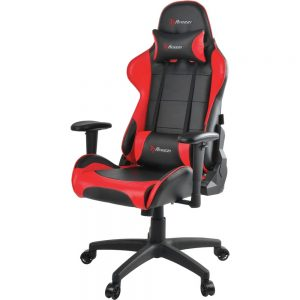 Arozzi Verona V2 Gaming Chair - Red - For Game - Pleather