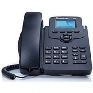 AudioCodes 405HD IP Phone - Corded - Corded - Black - VoIP - Speakerphone - 2 x Network (RJ-45) - PoE Ports - SIP Protocol(s)