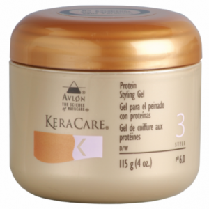 Avlon KeraCare Protein Styling Gel 4 oz jar