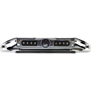 BOYO Vision VTL400CIR Bar-Type 140deg License Plate Camera with IR Night Vision (Chrome)