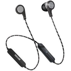 Maxell 199836 Bass 13 Wireless Bluetooth Earbuds (Metallic)