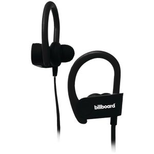 Billboard BB896 Bluetooth Earhook Earbuds with Microphone (Black)