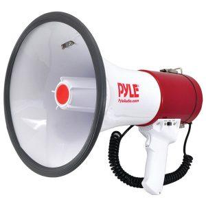 Pyle Pro PMP52BT 50-Watt Bluetooth Megaphone Bullhorn with Siren