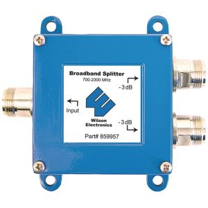 Wilson Electronics 859957 50ohm 2-Way Cellular Signal Splitter