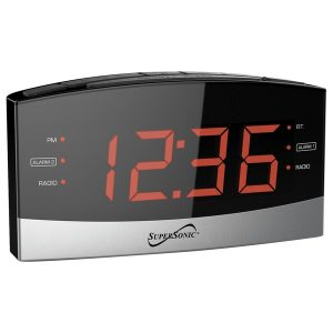 Supersonic SC-381BT Bluetooth Clock Radio