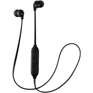 JVC HAFX21BTB In-Ear Headphones with Microphone & Bluetooth (Black)
