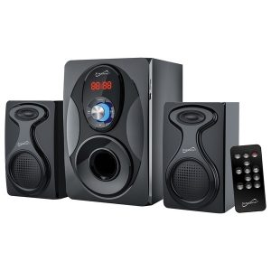 Supersonic SC-1129BT Bluetooth Multimedia Speaker System with Remote Control