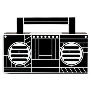 QFX BT-41-Boom Bluetooth Streaming TWS Ready Speaker (Black)