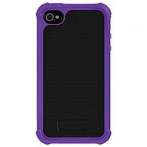 Ballistic SA0582-M665 Soft Gel Case for iPhone 4 and 4S - Purple