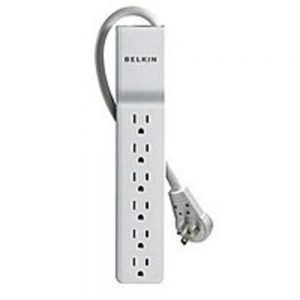 Belkin BE106000-08R 6 Outlet Surge Protector