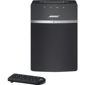 Bose SoundTouch 10 Bluetooth Speaker System - Black - Wireless LAN - USB