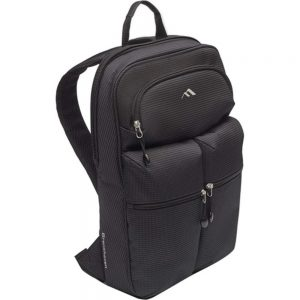 Brenthaven Tred Carrying Case (Backpack) for 15.6 Notebook - Black - Drop Resistant - Polyester