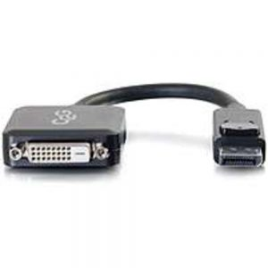 C2G 757120543176 54317 8-inch DisplayPort Male to DVI-D Female Active Adapter Cable