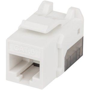 Intellinet Network Solutions 772310 FastPunch CAT-6 UTP Keystone Jack (White)