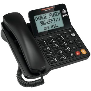 AT&T ATCL2940 Corded Speakerphone with Large Display