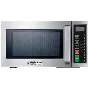 Magic Chef MCCM910ST .9 Cubic-ft Commercial Microwave