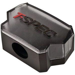 T-Spec V12DB-1144 v12 SERIES 1/0-Gauge In/Four 4/8-Gauge Out Compact Block Distribution