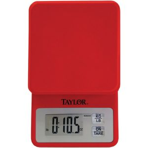 Taylor Precision Products 3817R 11lb-Capacity Compact Kitchen Scale