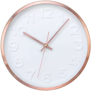 Timekeeper 668024 Copper II Wall Clock