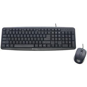 Verbatim 99202 Slimline Corded USB Keyboard & Mouse