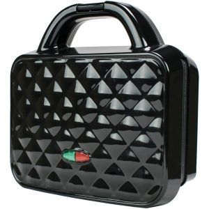 Brentwood Appliances TS-239BK Couture Purse Nonstick Dual Waffle Maker (Black)