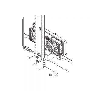 CPi 11755-003 Fan Kit For Single Rack Enclosures