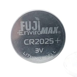 FUJI ENVIROMAX 229 CR2025 Lithium Coin Cell Battery 2 Pack