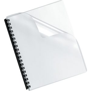 Fellowes 52311 Crystals Transparent PVC Binding Covers