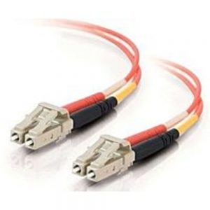 Cables To Go 33172 3.3 Feet Fiber Optic Patch Cable - 2 x LC Multi-mode Male/2 x LC Multi-mode Male - 62.5/125 Micron - Orange
