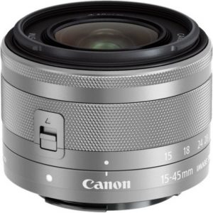 Canon - 15 mm to 45 mm - f/3.5 - 6.3 - Zoom Lens for Canon EF-M - Designed for Camera - 49 mm Attachment - 3x Optical Zoom - Optical IS