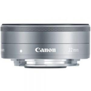 Canon - 22 mm - f/2 - Fixed Focal Length Lens for Canon EF-M - Designed for Camera - 43 mm Attachment