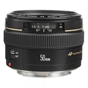 Canon 2515A003 EF 50mm f/1.4 USM Standard and Medium Telephoto Lens - f/1.4
