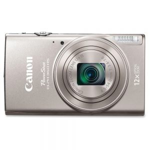 Canon PowerShot 360 HS 20.2 Megapixel Compact Camera - Silver - 3 LCD - 12x Optical Zoom - 4x Digital Zoom - Optical (IS) - 5184 x 3888 Image - 1920 x 1080 Video - HD Movie Mode - Wireless LAN