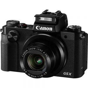 Canon PowerShot G5 20.2 Megapixel Bridge Camera - Black - 3 Touchscreen LCD - 4.2x Optical Zoom - 4x Digital Zoom - Optical (IS) - 5472 x 3648 Image - 1920 x 1080 Video - HD Movie Mode - Wireless LAN